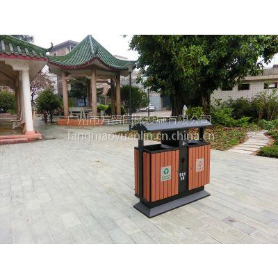 西安垃圾桶供应商方贸园林生产不锈钢垃圾箱、果皮箱,广告垃圾箱