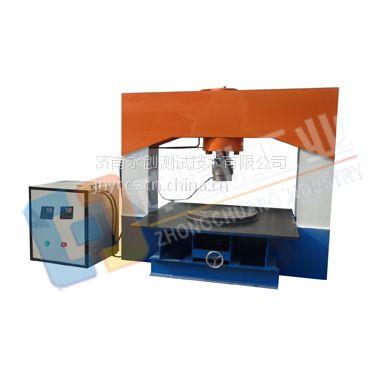 杭州铸铁井盖压缩载荷试验装置#铸铁井盖压力试验机厂家
