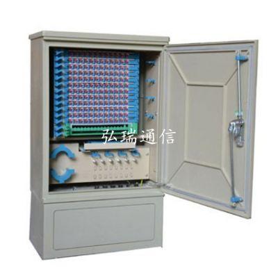 供应72芯光缆交接箱,光纤配线箱,光交接箱冷轧板 免跳接