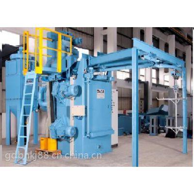 供应东莞抛丸机专业生产厂家百豪专业定做各种非标通过式抛丸机