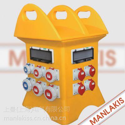 厂家直销专卖PE材料便携式电源检修箱MX-BZS3-1002防水插座箱