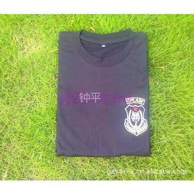 供应《我是特种兵》男士棉质后背无字T恤2011***火爆狼头圆领短袖T恤