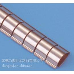 优质电磁屏蔽指形簧片 加工定制EMI铍铜弹片