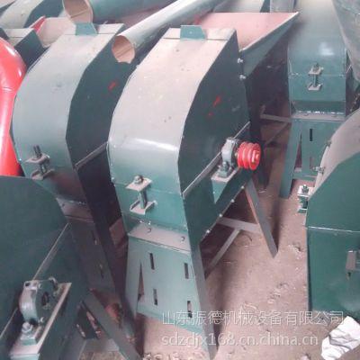中小型秸秆专用饲料粉碎机 养殖专用锤片式粉碎机 振德供应