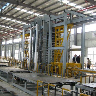供应青岛国森机械制造的人造板机械设备防火板压机压制成型设备