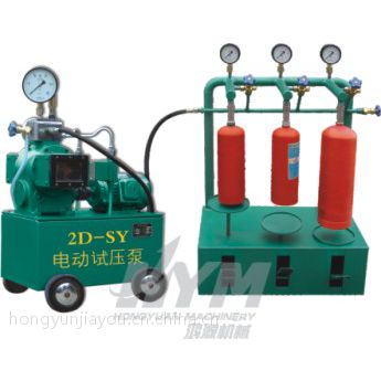 胶管吐芯试压机,管道试压专用设备,计算机试压泵