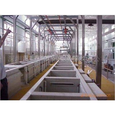 供应全(半)自动电镀生产线、电镀线、龙门线