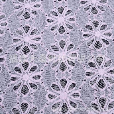 厂家直销 福建长乐服装锦氨蕾丝花边面料  现货批发 量大从优