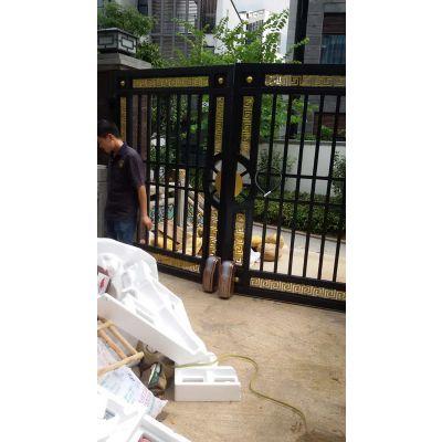 福建台风庭院式防水门机【LEY】轮式电动门品牌