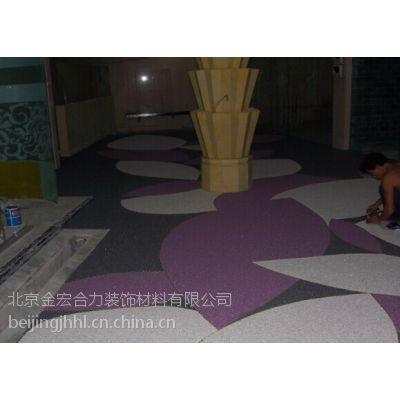 供应厂家直销环氧彩砂、彩石地坪