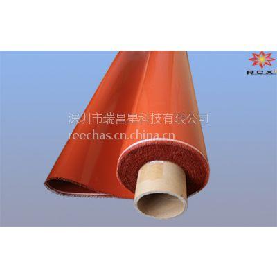 雅龙卷状红色硅胶垫供应