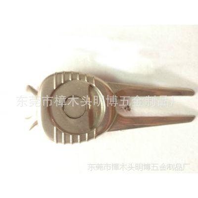 生产 各种优质合金电镀球叉 高尔夫礼品套装 金属镀古青铜球叉