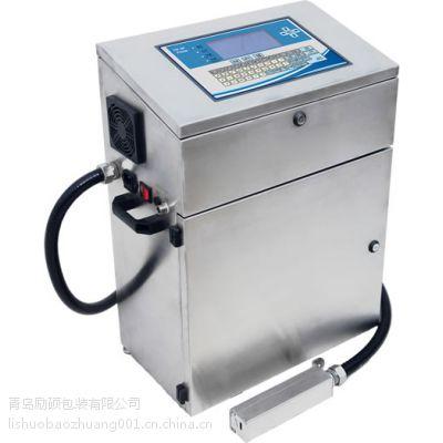青岛食品日期批号励硕喷码机冷冻食品塑料袋塑料盒喷码机