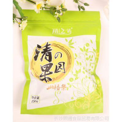 清之坊正品 高钙琼脂山楂条 酸甜可口 蜜饯零食 200g*30包/箱