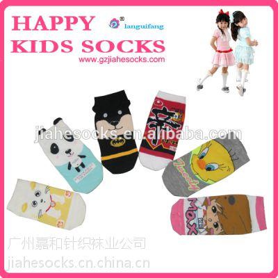 广州袜厂定做儿童卡通袜,儿童卡通立体袜厂家