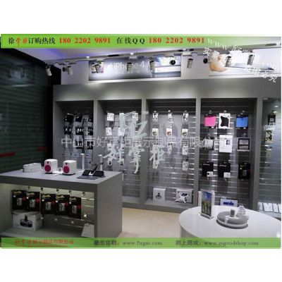 供应供应全新手机展示柜,手机配件柜,苹果手机专卖店配件柜展示一角