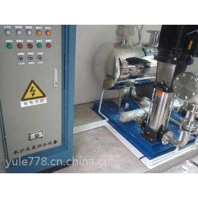 供应水池二次加压泵变频供水设备