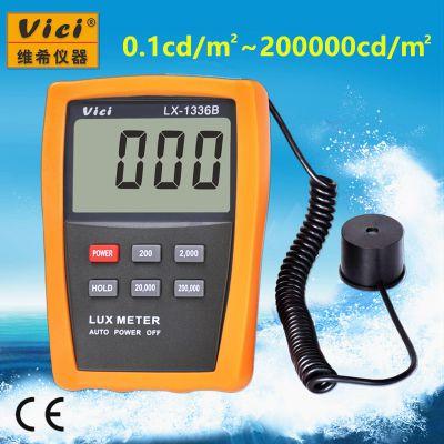 维希Vici LX-1336B 3位半数字式屏幕亮度计亮度表