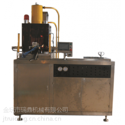 RDJX-200吨液压压片机化工粉末压片机铁屑压片机