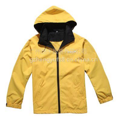 白云区订做风衣外套 广州广告风衣定做 志愿者风衣定制 防水户外运动风衣