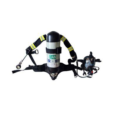 三安正品正压式空气呼吸机氨用防化服配套的空气呼吸器可二次充气