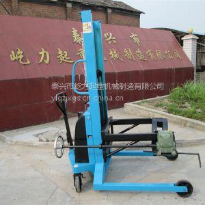 供应供应定制-电动油桶堆高车 可倾式电动圆桶装卸车 半自动油桶叉车