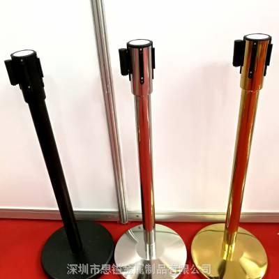 广东深圳市思镒金属供应南方8K伸缩隔离带 防护一米线栏杆座