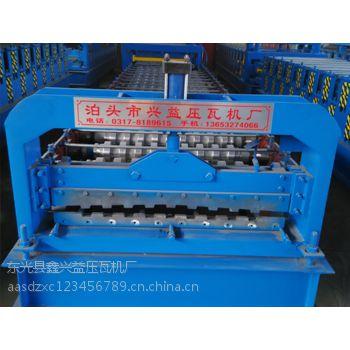 卷帘门成型机彩钢瓦设备兴益压瓦机厂