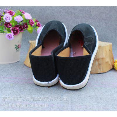 手工布鞋拖鞋春秋季帆布鞋批发轮胎底布鞋批发