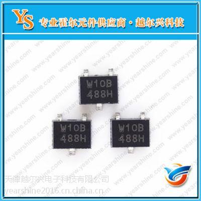 AKm进口元件 印字W10B霍尔传感器 EW610B双极锁存贴片式霍尔元件