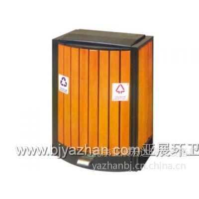 北京供应亚展牌广告牌环保垃圾桶LW-037 厂家直销