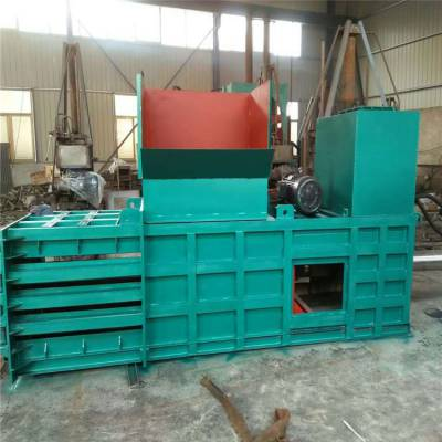 伊犁半自动棉花打包机规格 圣嘉高效率羊毛液压打包机