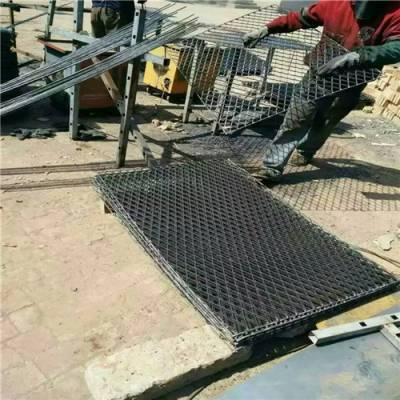 楼层建筑钢笆片 菱形孔钢笆片 脚手架踩踏板