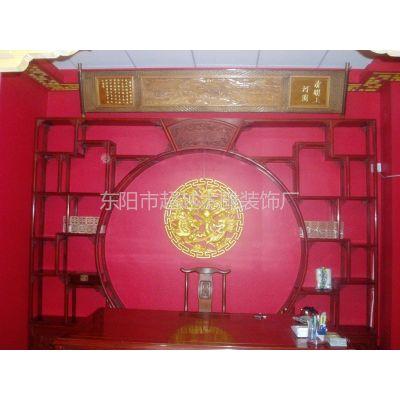 供应仿古家具 书柜 置物柜 月亮门隔断柜 中式别墅酒店配置 红木 东阳木雕出品