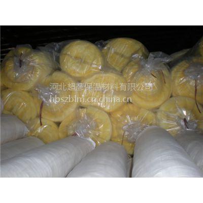供应100厚90kg彩色玻璃棉卷毡每吨多少钱