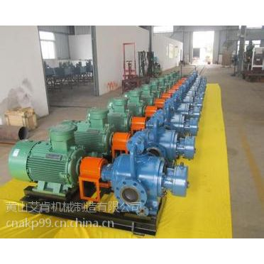 油库输送发运卸载双螺杆泵艾肯泵业HW208-112