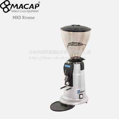代理原装意大利MACAP定量磨豆机 MXD Xtreme意式磨咖啡豆机平面磨刀盘