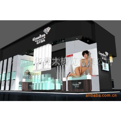 供应深圳国际珠宝展展台设计搭建、珠宝展位设计装修、珠宝展厅设计