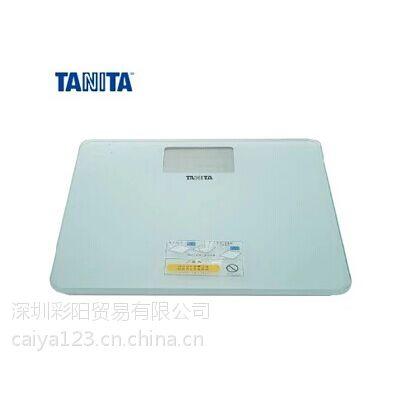 百利达TANITA三种国际单位显示健康秤HD-384电子体重秤背光白