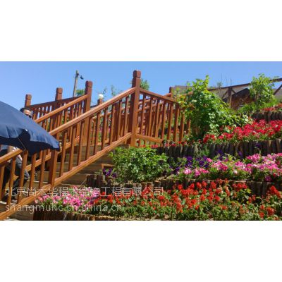 木结构厂家专业设计定做木质花架景观小品