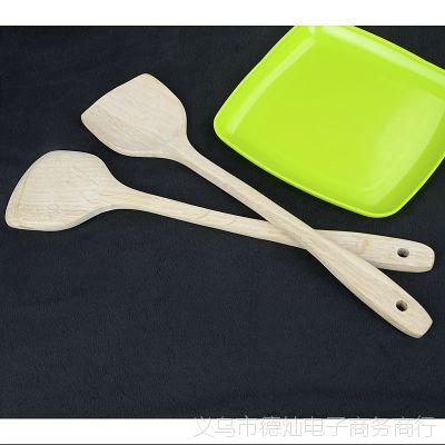 无漆柯木长柄木铲不粘锅专用木质锅铲木制厨具烹饪勺铲环保铲39cm