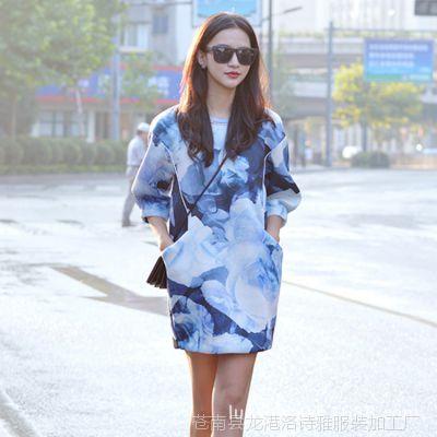 高档淑女公主范毛呢外套 网店代理代发货 韩版女装代理日韩女装