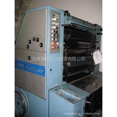 供应进口罗兰1982年RFOB型单色4开胶印机