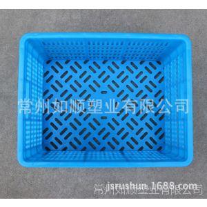 供应塑料筐 常州如顺厂家直销380-225筐塑料筐
