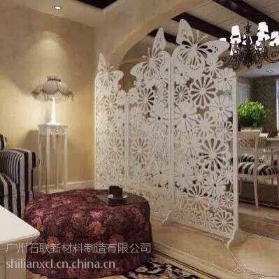 供应 通花板 密度板 镂空艺术花纹 雕花隔断 可订制