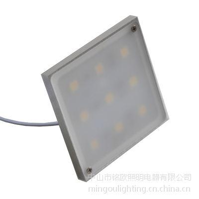 铭欧照明MO8038畅销款 LED正方形橱柜灯书柜灯 酒柜灯衣柜灯小射灯 明装高亮超薄