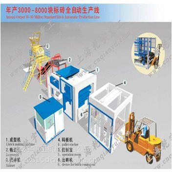 供应年产3000万-1亿蒸压砖全产自动生产线