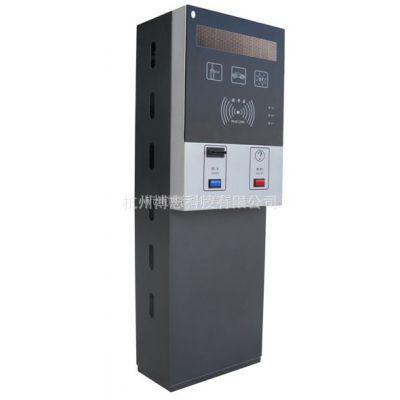 供应专利产品,杭州 停车场专用 BZZJ-398R智能读卡控制机(票箱)