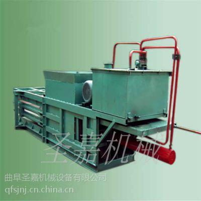 现货促销卧式金属打包机 圣嘉玉米秸秆打包机规格