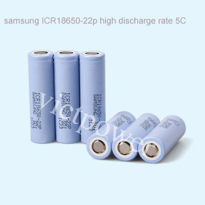 供应韩国三星原厂ICR18650-22P,2200mah 5c动力锂电池